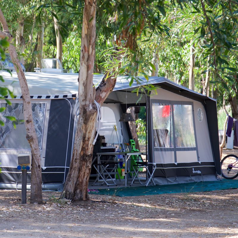 Offer for 12 nights camping